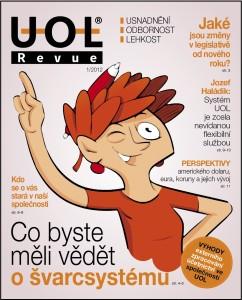 Firemní časopis UOL Revue web