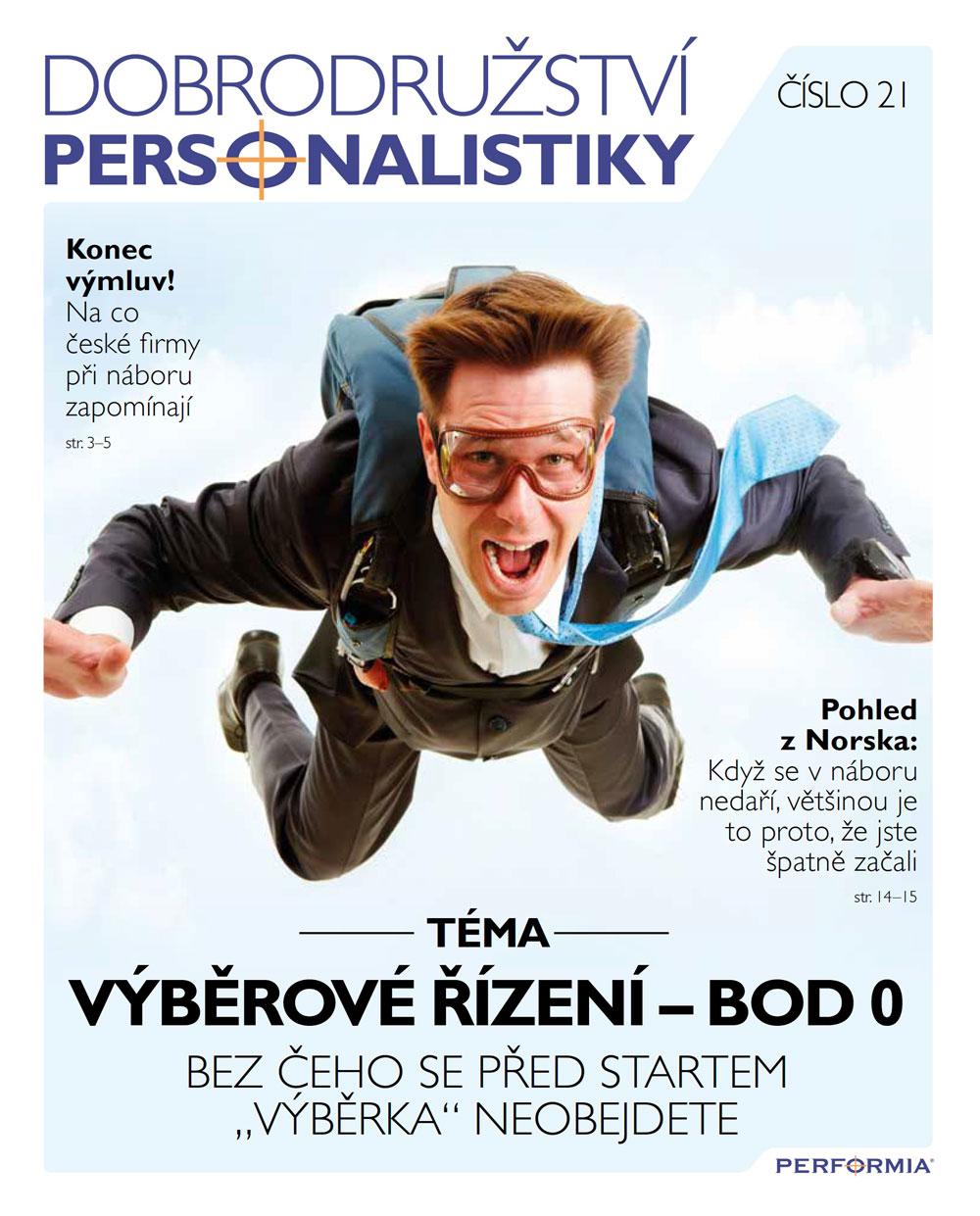 Dobrodružtví personalistky č. 21-1