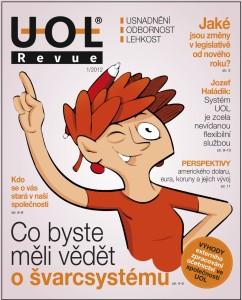 firemní časopis UOL Revue leden 2012