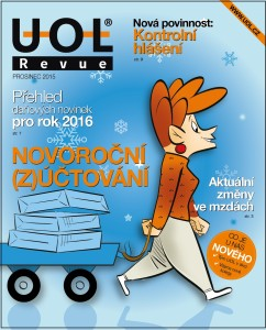 firemní časopis UOL Revue prosinec 2015