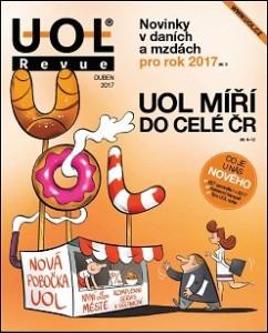 firemní časopis UOL Revue duben 2017