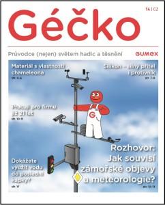 Firemní časopis Géčko