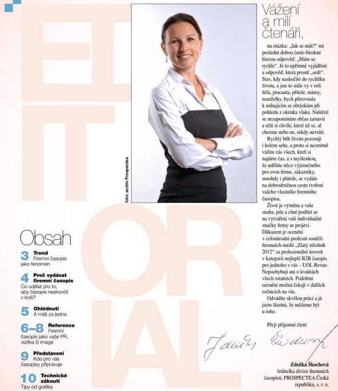 Renesance firemních časopisů - úvodní slovo