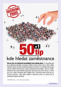 e-book 50 plus 1 tip, kde hledat zaměstnance